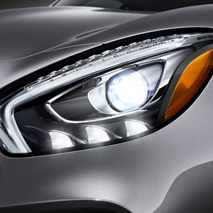 mercedes amg gt-s headlight