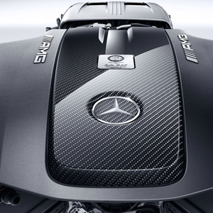 mercedes amg gt-s carbon fiber engine conver