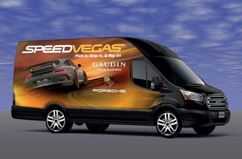 SPEEDVEGAS complimentary shuttle to Las Vegas Strip hotels