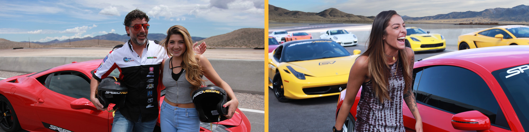 racing experience in exotics in las vegas