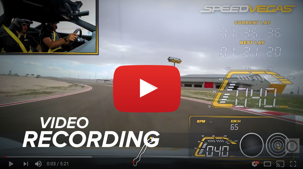 add-on video racetrack las vegas