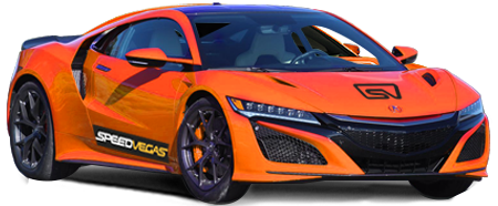 drive a Acura NSX in las vegas racetrack