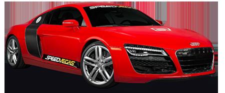 guida una Audi a las vegas