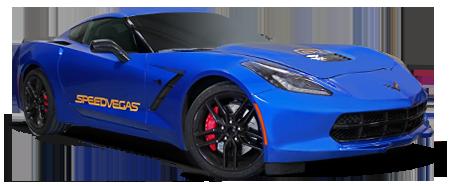 ラスベガスでCorvette をドライビング