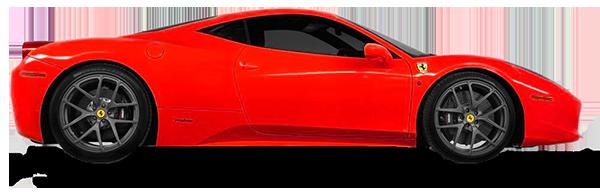 conducir un Ferrari en las vegas