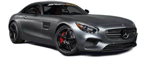 race a Mercedes AMG GT-S in las vegas racetrack