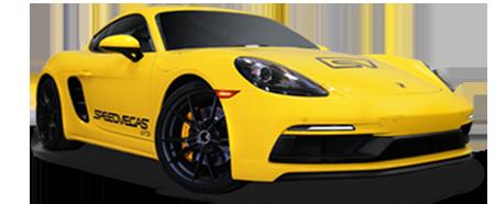 guida una Porsche a las vegas
