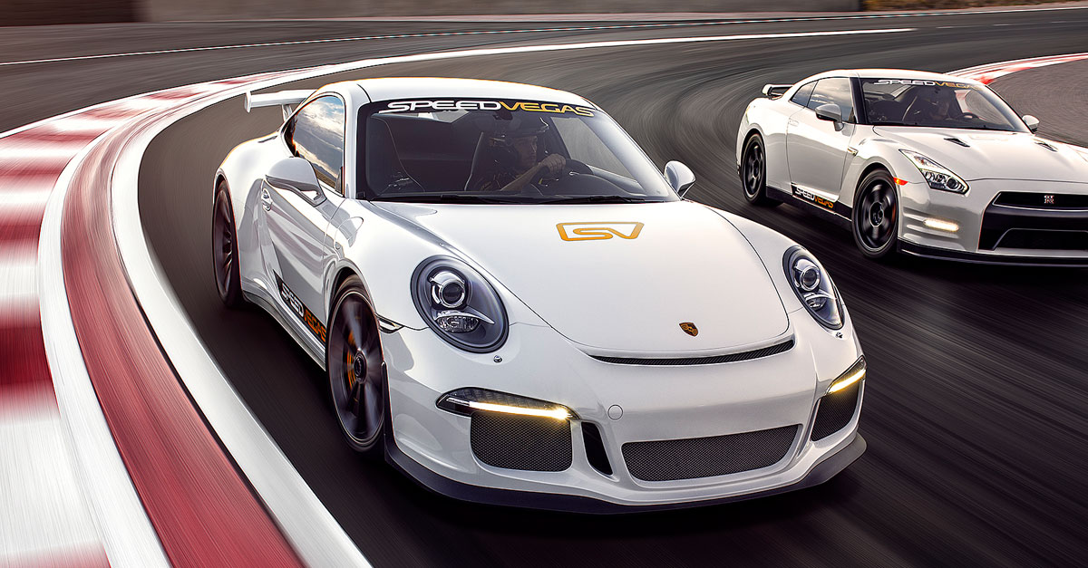 Audi Build Your Own >> Drive a Porsche 911 GT3 in Las Vegas: Porsche Driving