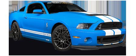conducir un Shelby en las vegas
