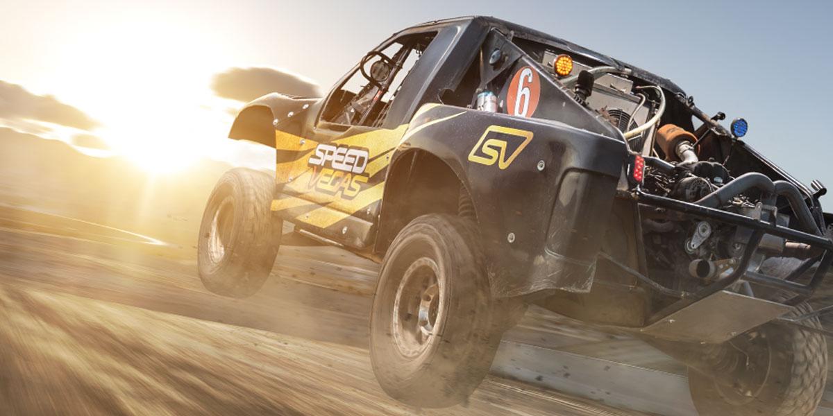 SPEEDVEGAS | Drive Trophy Trucks & UTV RZRs on a Track in Las Vegas