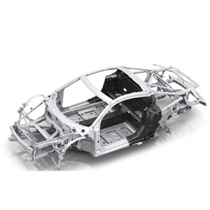 audi r8 v10 illustration frame