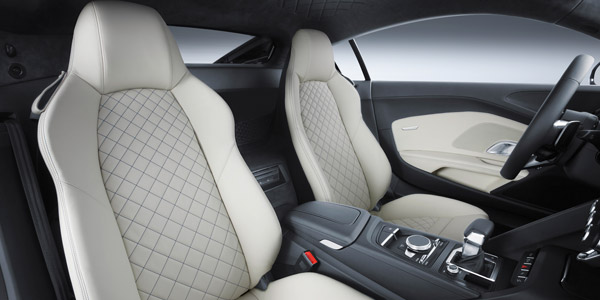 audi r8 interior leather seats
