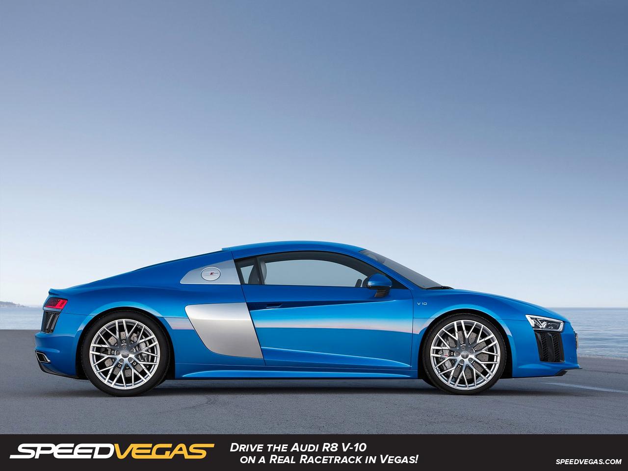 Audi R8 V10 Blue Side ...