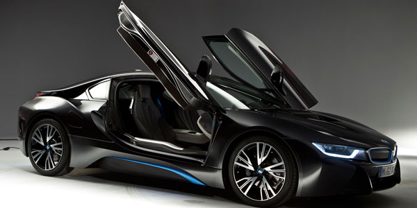 bmw i8 doors up