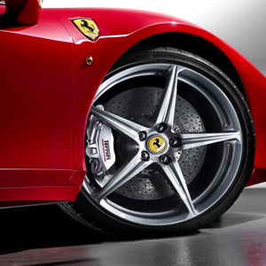 ferrari 458 italia front wheel wallpaper