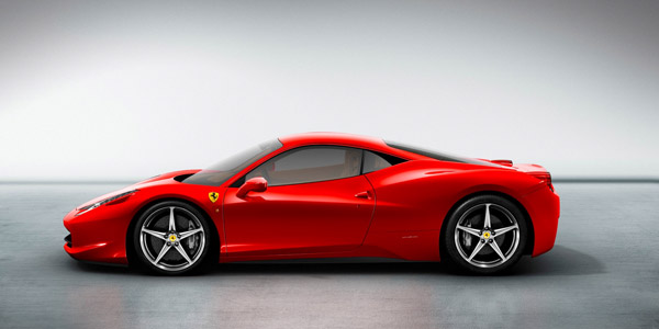 ferrari 458 italia side wallpaper