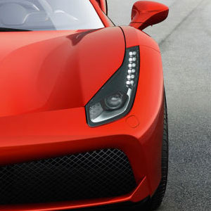 ferrari 488 front headlight