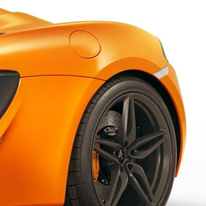 mclaren 570s rear tire