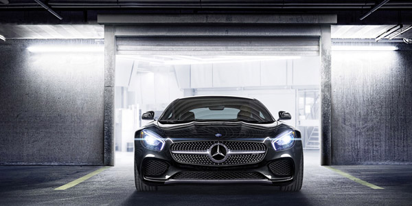 mercedes amg gt-s front view