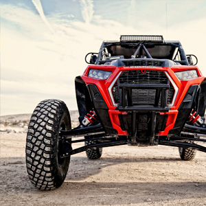 polaris front view racing vegas