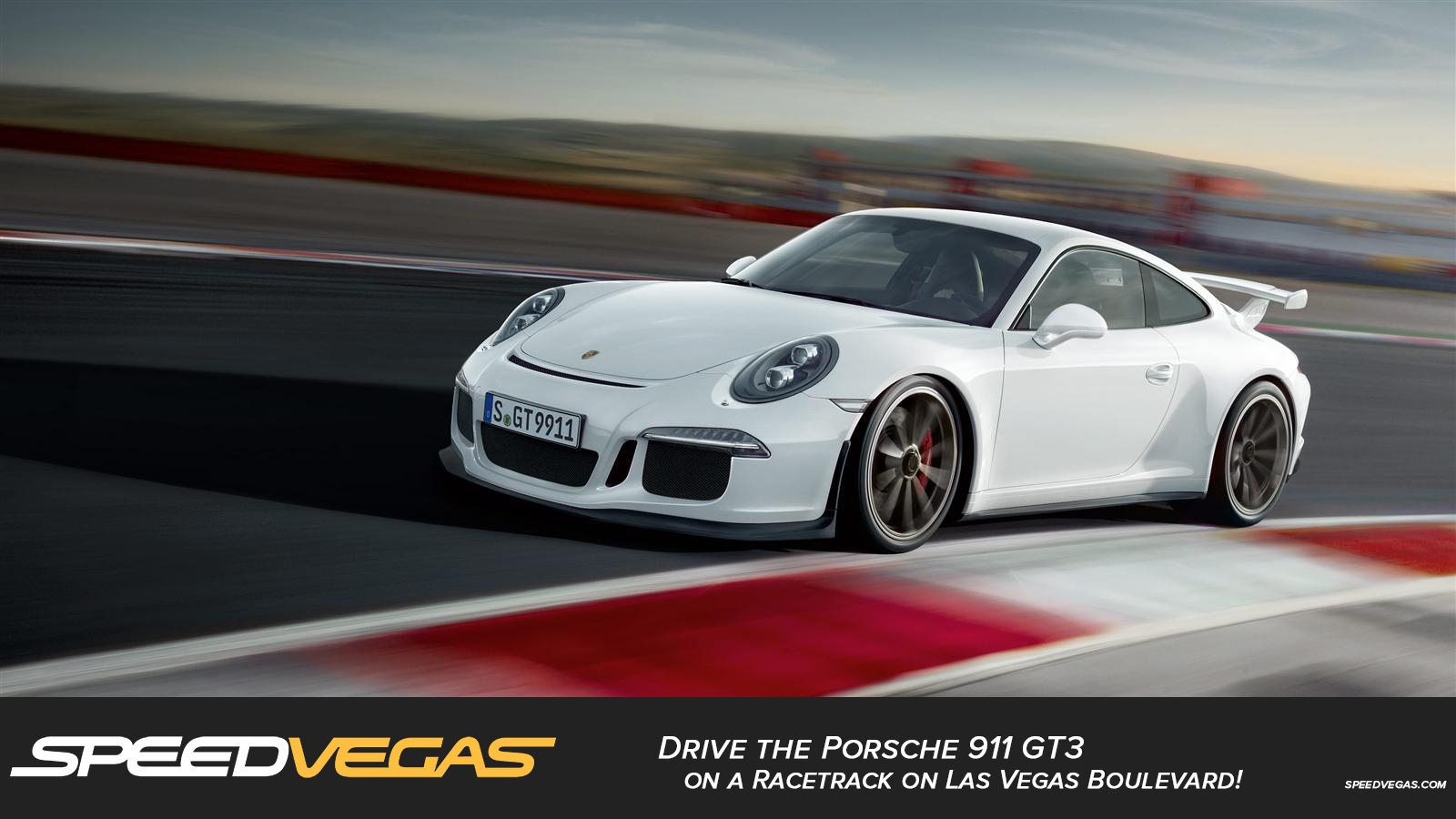 drive a porsche 911 gt3 in las vegas porsche driving. Black Bedroom Furniture Sets. Home Design Ideas
