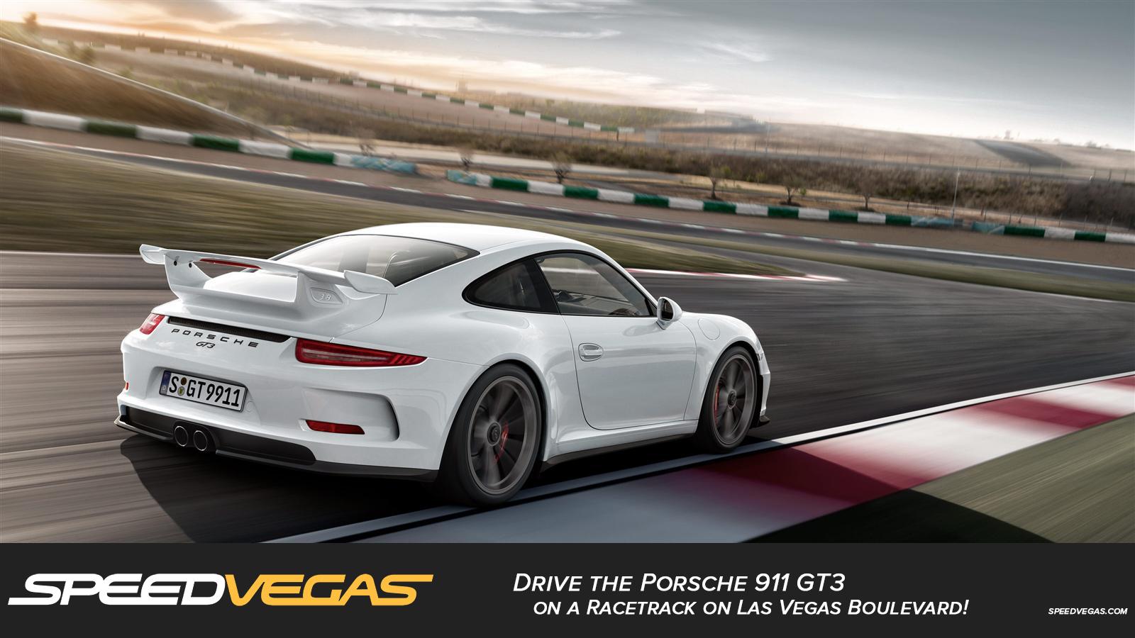 Exotic Car Racing Las Vegas >> Drive a Porsche 911 GT3 in Las Vegas: Porsche Driving Experience | SPEEDVEGAS