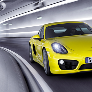 porsche cayman tunnel