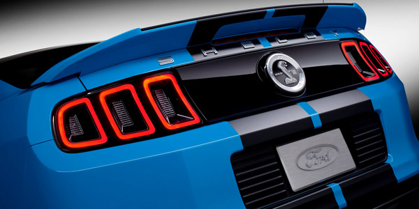 shelby mustang taillights