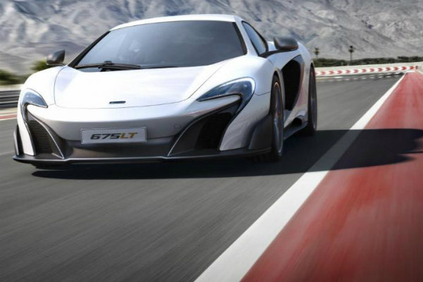 McLaren's New Exotic Car: The 675LT