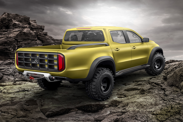 Mercedes-Benz Introduces Two Pickup Truck Concepts