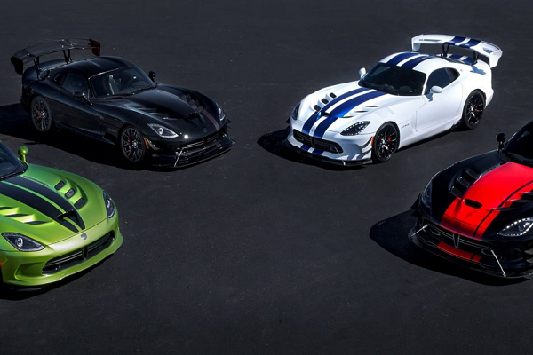 Dodge Viper Final Year Limited Edition Models