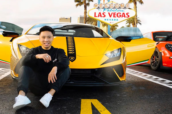 Justin Tse, Instagram Influencer Races at SPEEDVEGAS