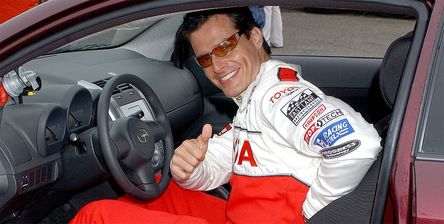 Actor, model, and professional racer Antonio Sabato Jr. returned to SPEEDVEGAS on Monday to take in additional laps around our exclusive 1.5-mile racetrack and to spend some quality time with fans. This marks the second time that Sabato Jr. has visited SPEEDVEGAS in less than a week.  For this SPEEDVEGAS experience, Sabato Jr. chose to take on the raw power and agility of the Ferrari 458 Italia. Powered by a 4.5-liter V-8 engine capable of delivering 570 hp and 398 lb-ft of torque, the Ferrari 458 Italia hugs all 12 turns of our SPEEDVEGAS racetrack while dusting off a 0-60 mph time of just 3.4 seconds making the Italia a track favorite amongst celebrities and industry experts. After Sabato Jr. was done tackling all of the challenging turns and sweeping elevation changes found at SPEEDVEGAS to include our exclusive half-mile straight, he made plenty of time to take pictures with those that were lucky enough to be at our track. Those that are looking to see more of Sabato Jr. will be able to find him at the Rio Hotel & Casino as he is currently guest hosting Chippendales.