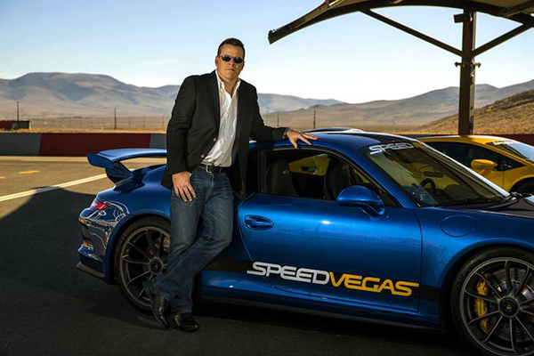 SPEEDVEGAS President Johnny McMahon Interviewed by VEGAS INC
