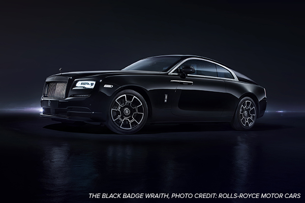 ROLLS-ROYCE MOTOR CARS TO HOST GLOBAL BLACK BADGE WRAITH DEBUT AT SPEEDVEGAS