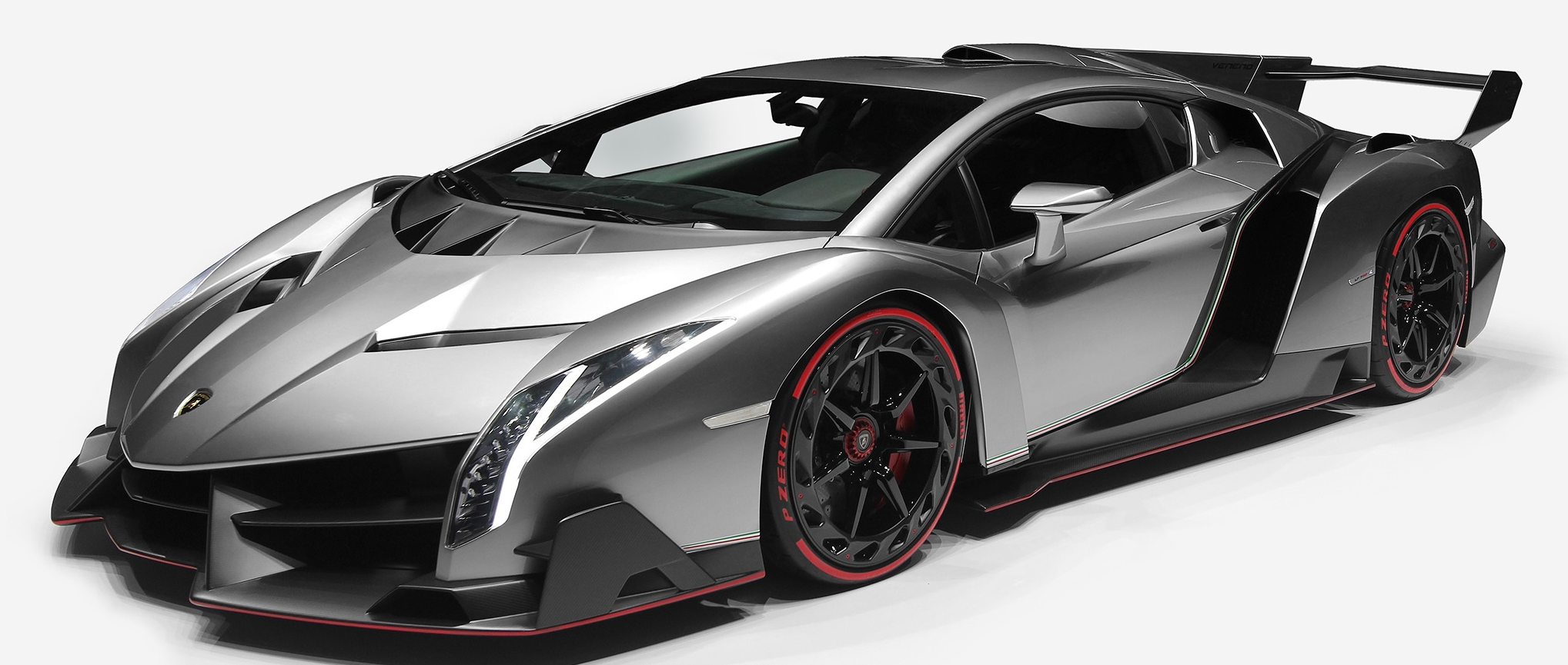 Aggressive body styling and ultra-limited production make the Lamborghini Veneno one of the most recognizable and desired exotic supercars ever manufactured in Sant'Agata Bolognese.