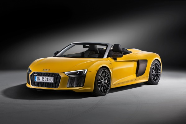 2017 Audi R8 Spyder on Display