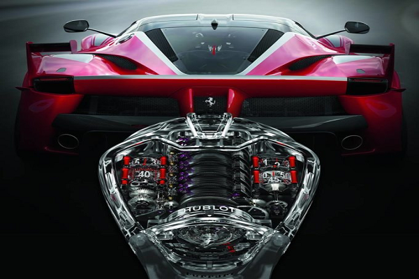 Hublot Creates Timepiece Inspired by Ferrari FXX K