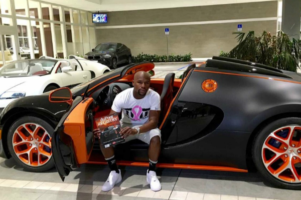 "Floyd ""Money"" Mayweather's Newest Exotic Car"