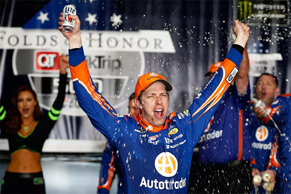 Brad Keselowski Takes the Checkered Flag in Atlanta