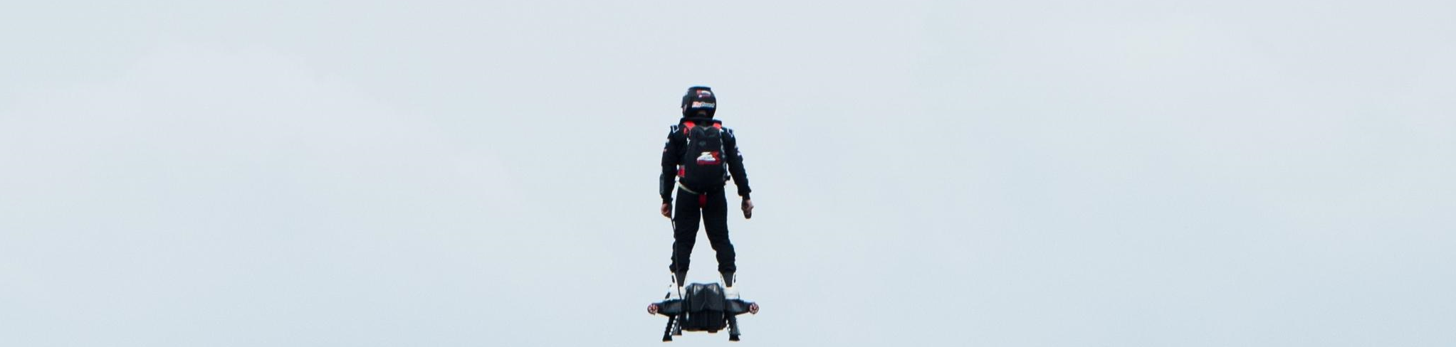 "French jet ski champion Franky Zapata, has set a new Guinness World Record for the farthest hoverboard flight smashing the old record by over 6,000 feet. This event took place over the weekend off the coast of Sausset-les-Pins in the South of France.  Zapata was able to negotiate his hoverboard off of land and over the water for a total distance of 7,388 feet. This smashes the previous record of 905 feet set by Canadian inventor Calalin Duru late last year. Zapata claims that his hoverboard can fly as high as 10,000 and up to 93 mph. Franky Zapata's company, Zapata Racing, recently stated in an interview that the hoverboard consists of four jet engines that are each capable of producing 250 hp for a combined power output of 1,000 hp. ""That's more than a majority of supercars on the market right now,"" Zapata recently stated."