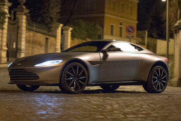 The Name is Martin, Aston Martin: A Car Drive With 007