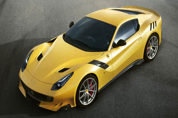 Google Executive Benjamin Sloss Buys a Ferrari F12tdf