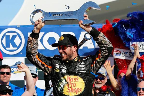 Martin Truex Jr. Wins Las Vegas Motor Speedway Kobalt 400