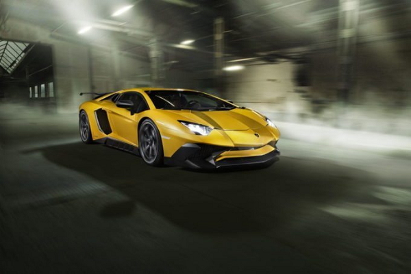 Lamborghini Aventador SV Wheel by Vossen and Novitec