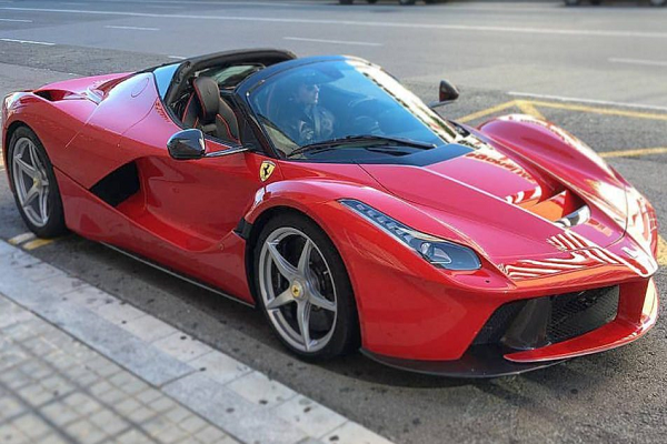 LaFerrari Aperta Spotted in Spain