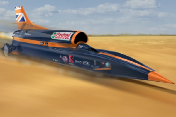 Bloodhound SSC Land Speed Record