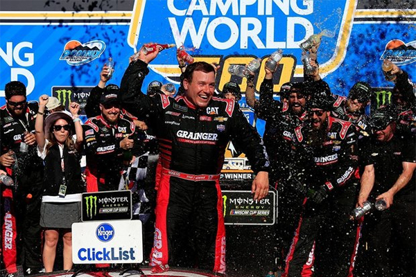 Ryan Newman Takes Huge Risk, Scores Stunning Cup Race Win