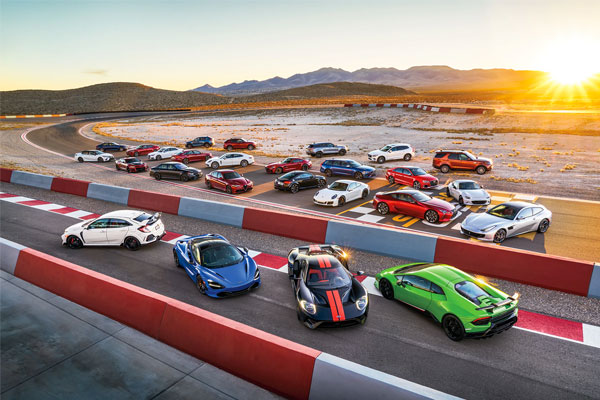 2018 Automobile All-Stars: Contenders Meet at SPEEDVEGAS