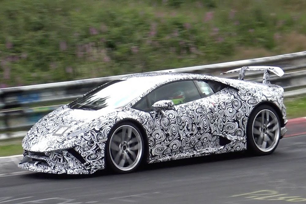 Spy Shots: Lamborghini Huracan Superleggera Spotted at Nurburgring